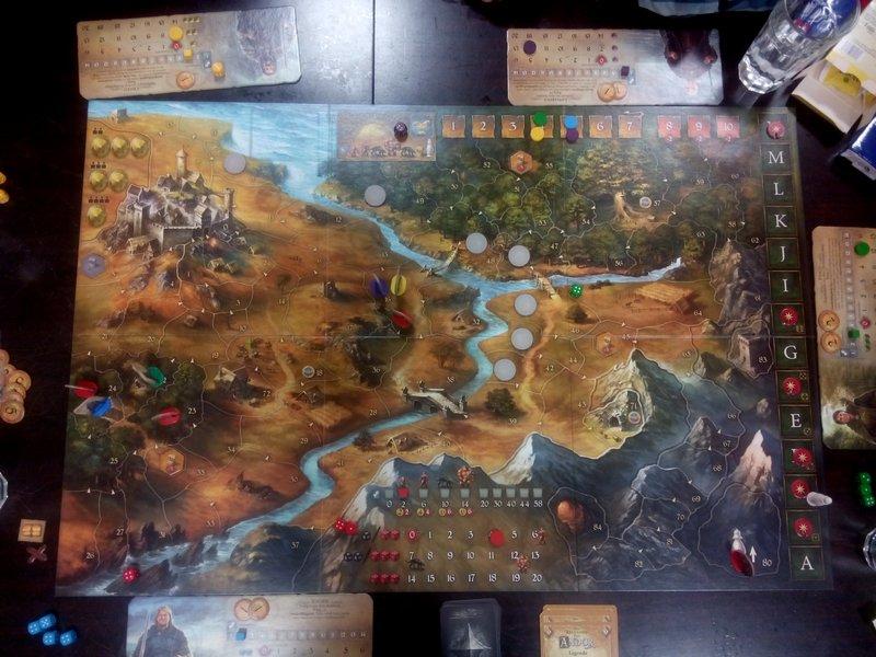 Spiel Legenden von Andor