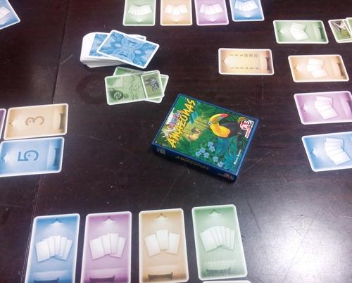 Spiel Coloretto Amazonas