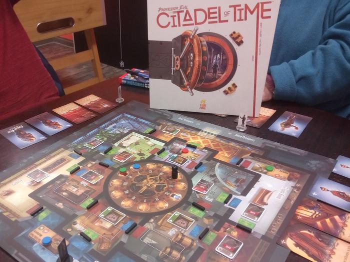 Spiel Prof. Evil und Citadel of Time