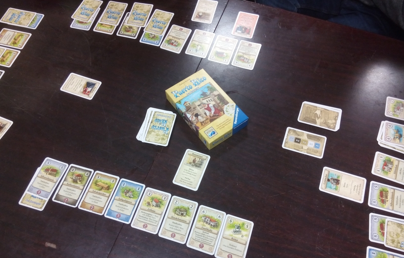 Kartenspiel Puerto Rico